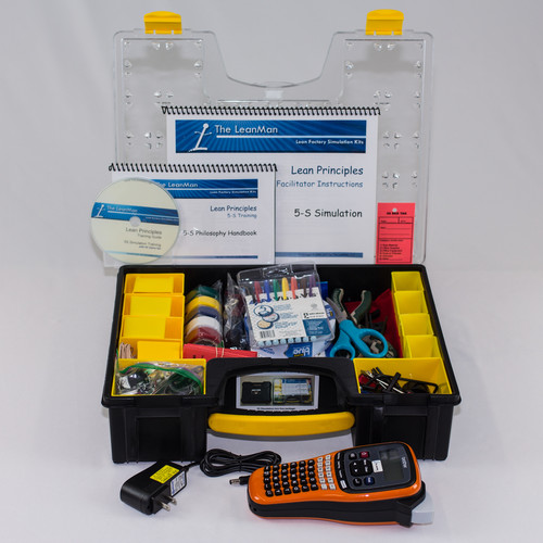5-S Simulation Training Kit and 5-S Game Set