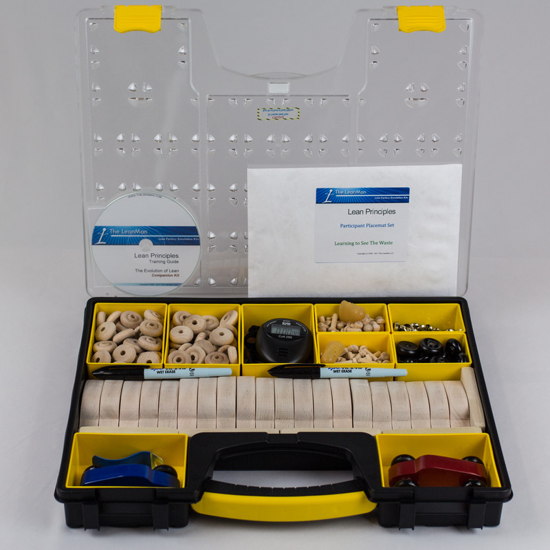 Companion Lean Factory Simulation Car Kit