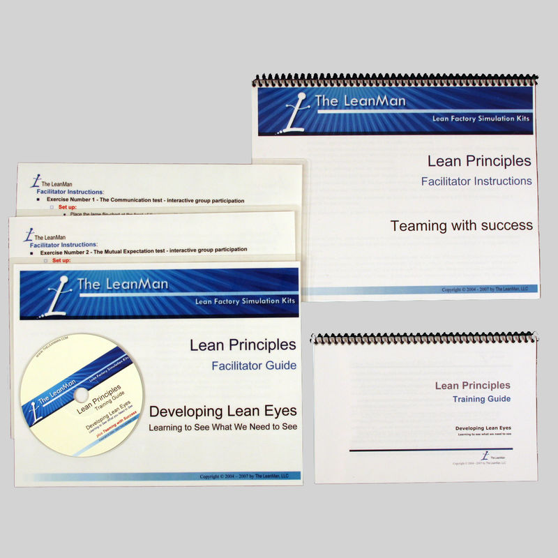 Lean principles: Developing Lean Eyes Training Package